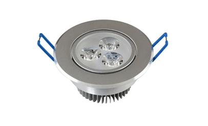 Spot LED 3w Dicróica Direcionável Corpo Alumínio