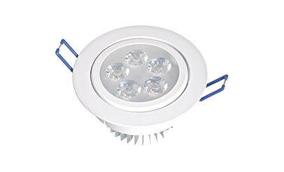 Spot LED 5w Dicróica Direcionável Corpo Branco
