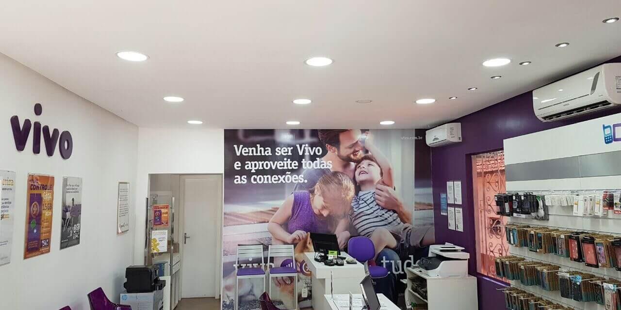 Projeto LED: Lojas Vivo