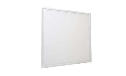 Luminária Plafon 62×62 48W LED Embutir Branco Frio Borda Branca