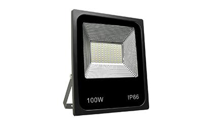 Refletor Holofote MicroLED Slim 100W Branco Frio