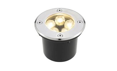 Spot Balizador LED 5W Branco Morno para Piso