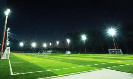 Como montar um bom projeto para iluminação de campo de futebol?